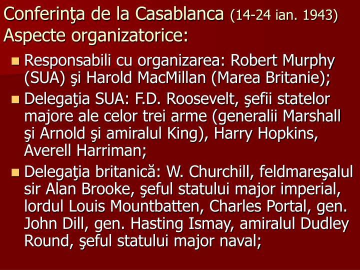 Conferinţa de la Casablanca
