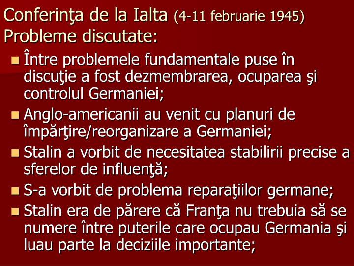 Conferinţa de la Ialta