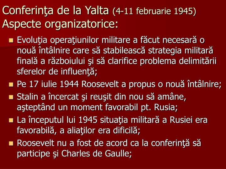 Conferinţa de la Yalta