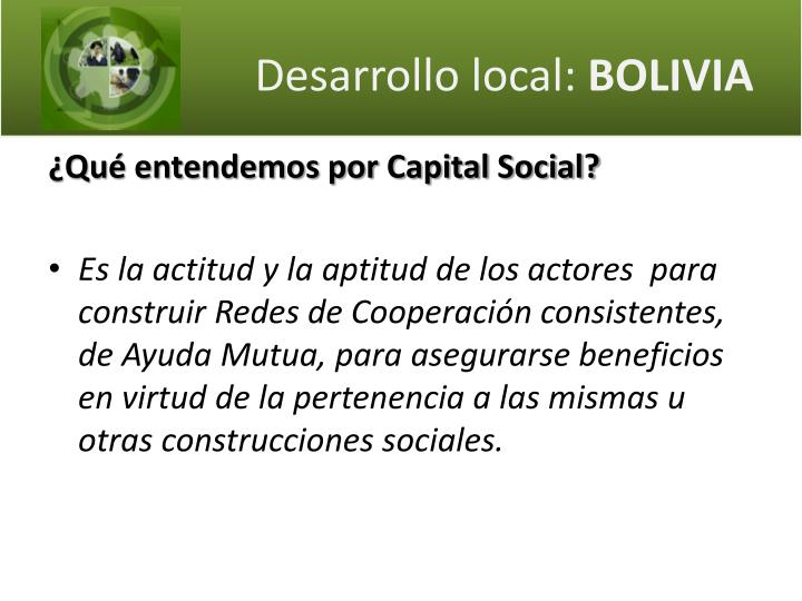 Desarrollo local bolivia1