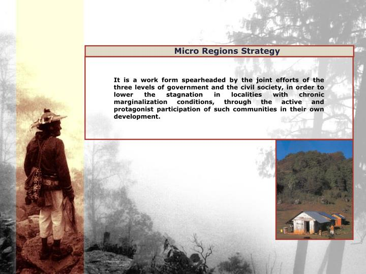 Micro Regions Strategy