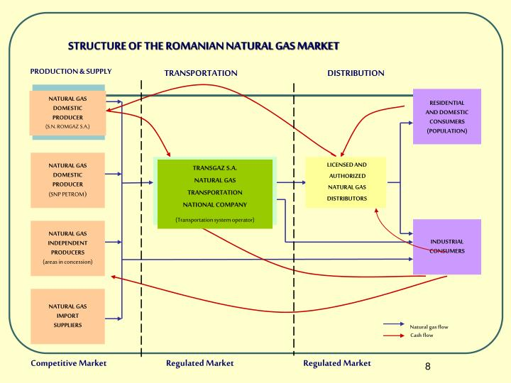 STRUCTURE OF THE ROMANIAN NATURAL GAS MARKET