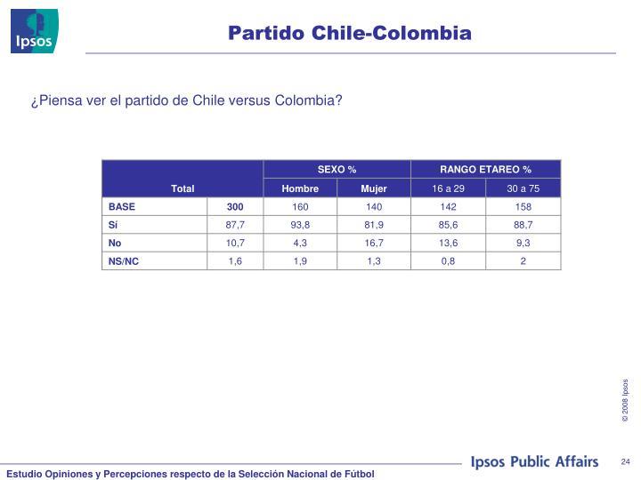 Partido Chile-Colombia