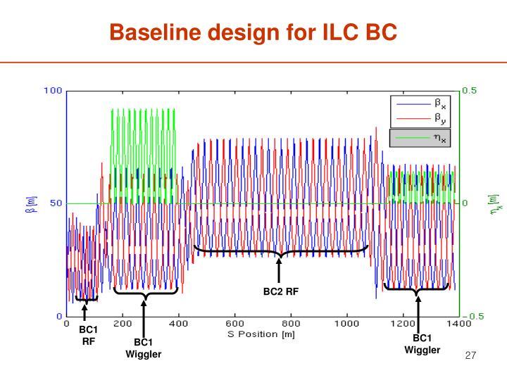 Baseline design for ILC BC