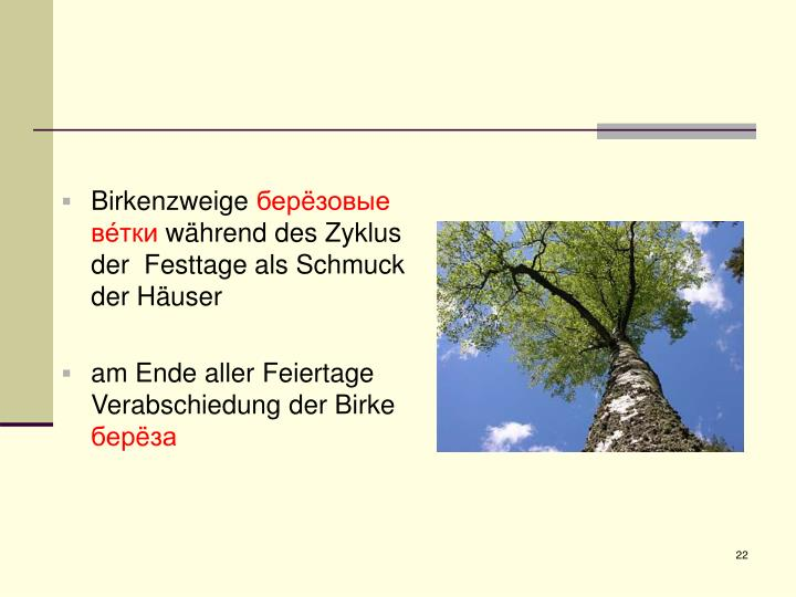 Junge Birke Als Schmuck : ppt die birke powerpoint presentation id 3944915 ~ Orissabook.com Haus und Dekorationen
