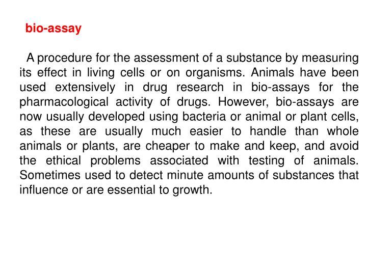 bio-assay