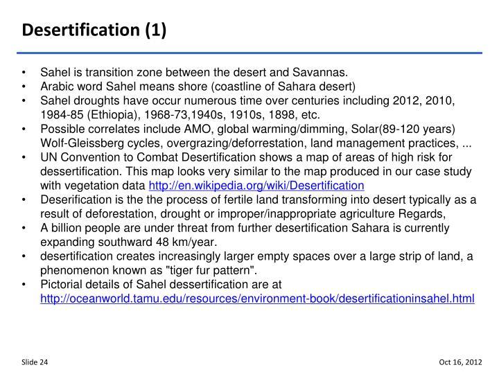 Desertification (1)
