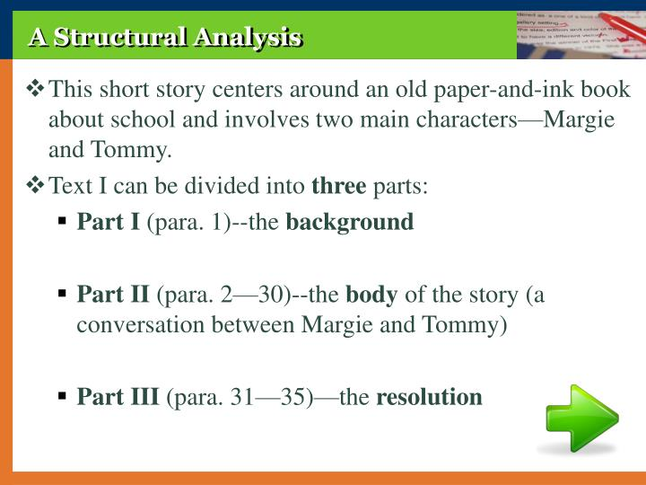 A Structural Analysis
