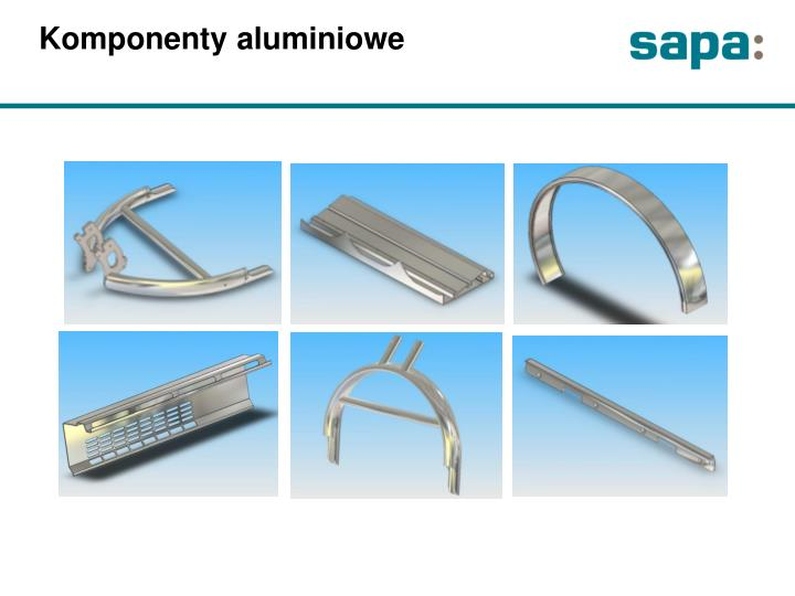 Komponenty aluminiowe