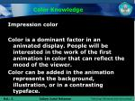 color knowledge