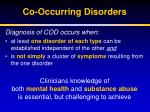 co occurring disorders1