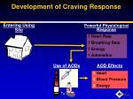 development of craving response2