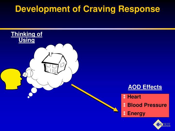 Development of Craving Response