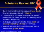 substance use and hiv