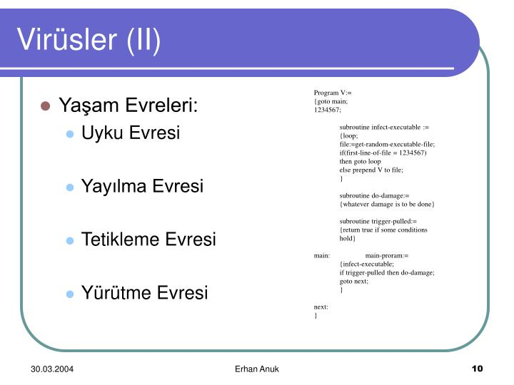 Program V:=