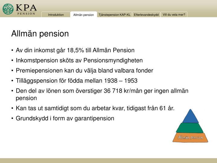 min pension login