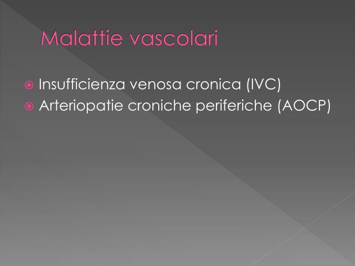 Malattie vascolari