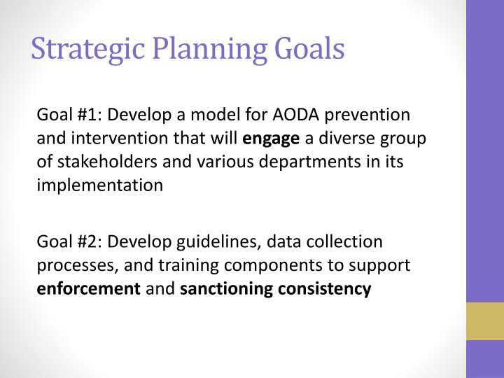 Strategic Planning Goals