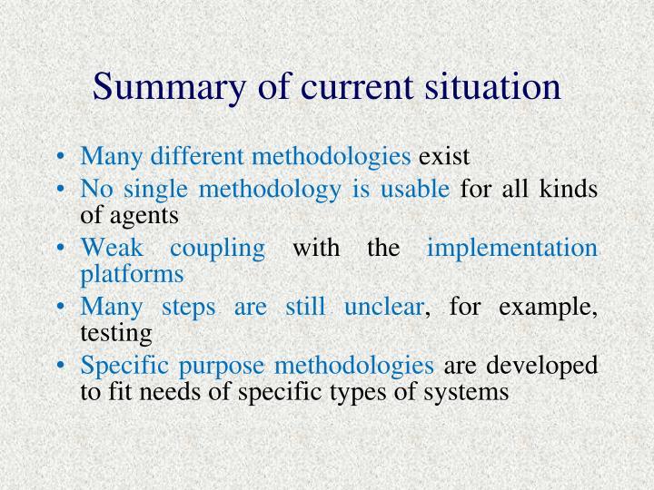 Summary of c
