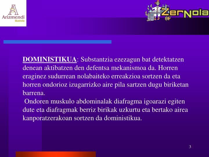 DOMINISTIKUA