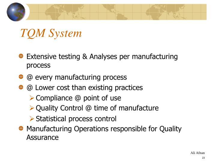 TQM System