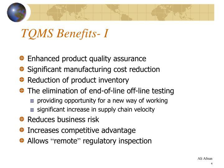 TQMS Benefits- I