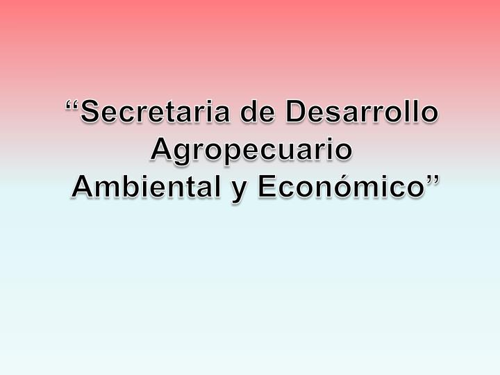 """""""Secretaria de Desarrollo"""