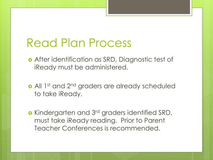 Read Plan Process