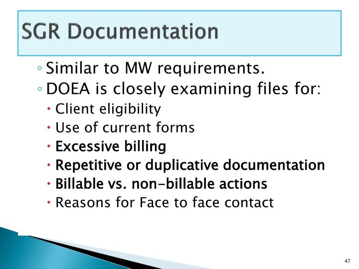 SGR Documentation