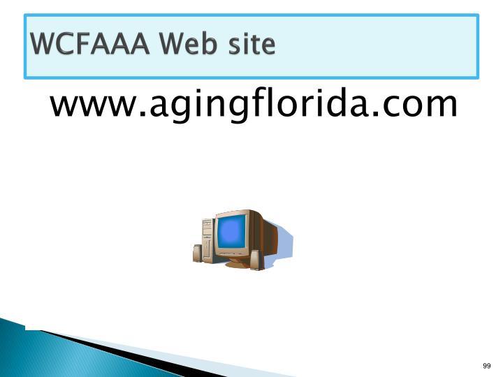 WCFAAA Web site