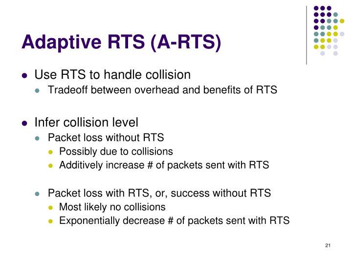 Adaptive RTS (A-RTS)