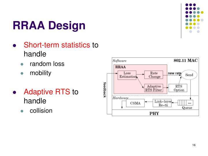 RRAA Design