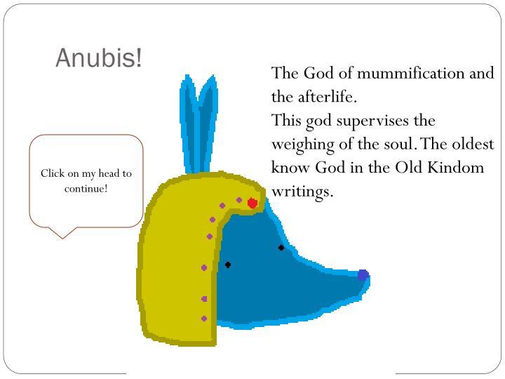 Anubis!