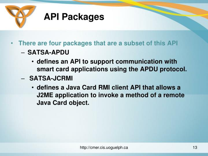 API Packages