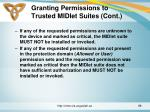 granting permissions to trusted midlet suites cont2