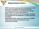 requirements cont5