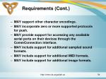 requirements cont7
