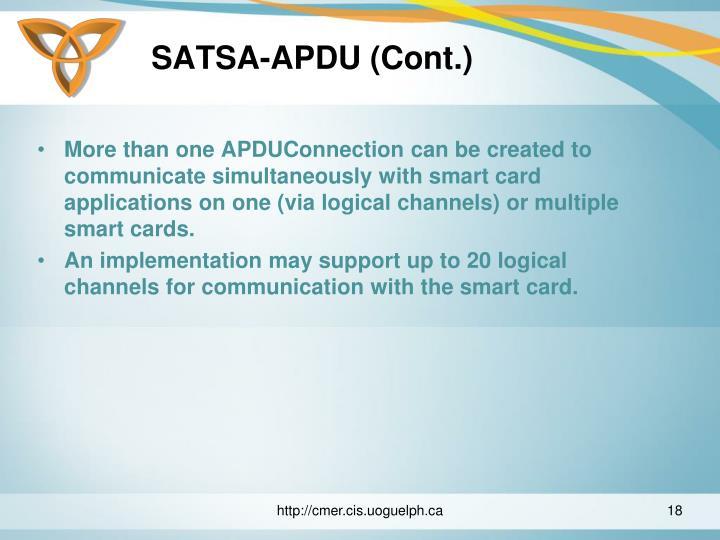 SATSA-APDU (Cont.)