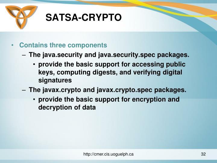 SATSA-CRYPTO
