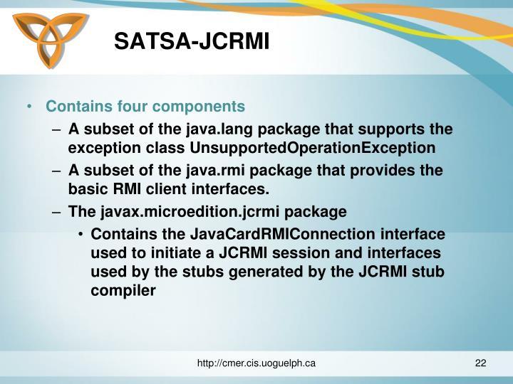SATSA-JCRMI
