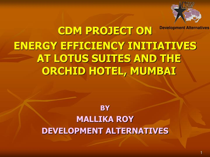 CDM PROJECT ON