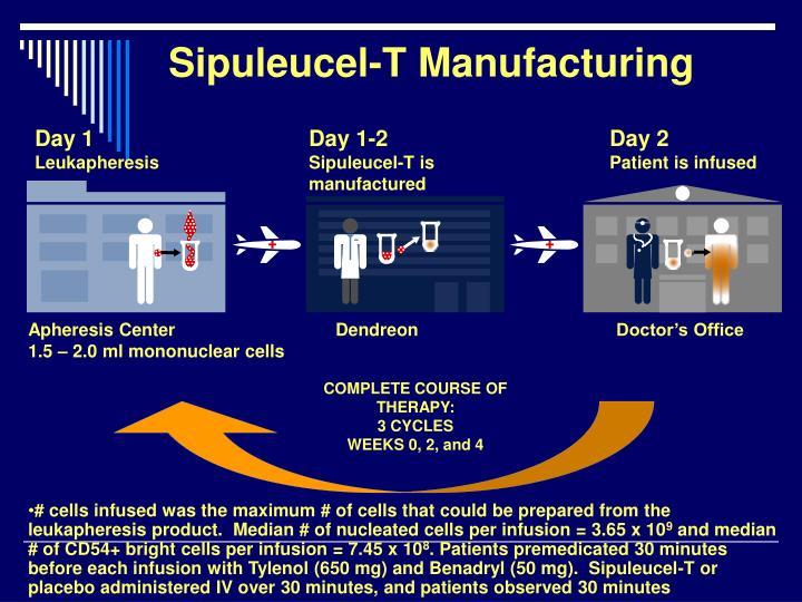 Sipuleucel-T Manufacturing