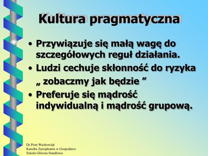 Kultura pragmatyczna