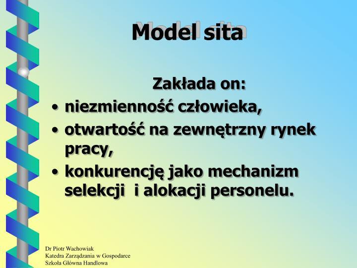 Model sita