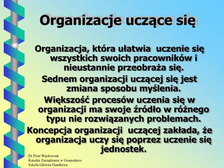 Organizacje uczące się