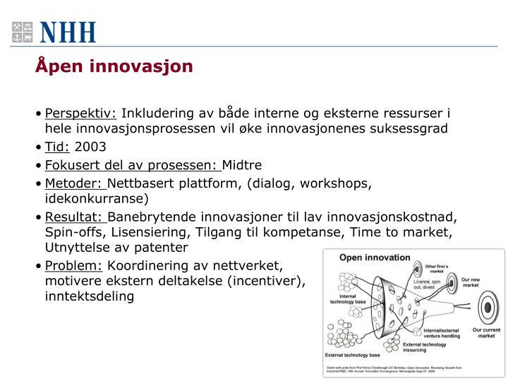 Åpen innovasjon