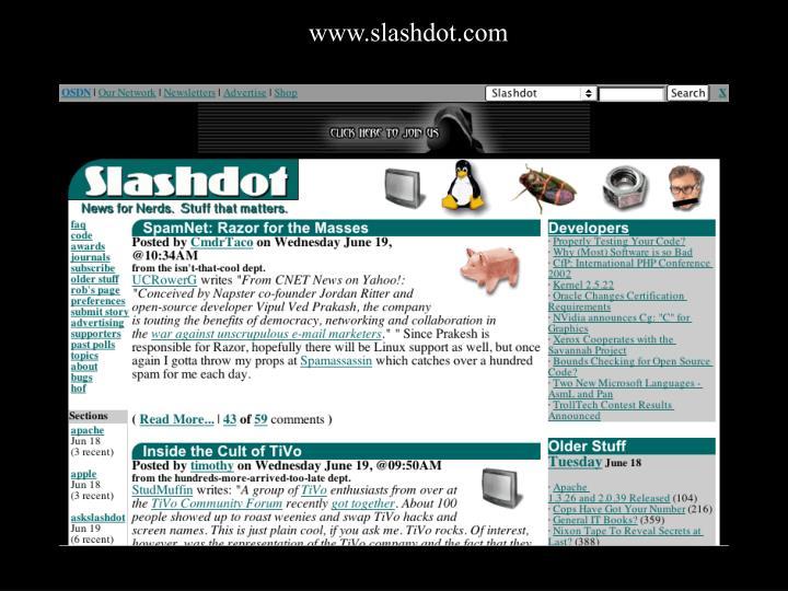 www.slashdot.com