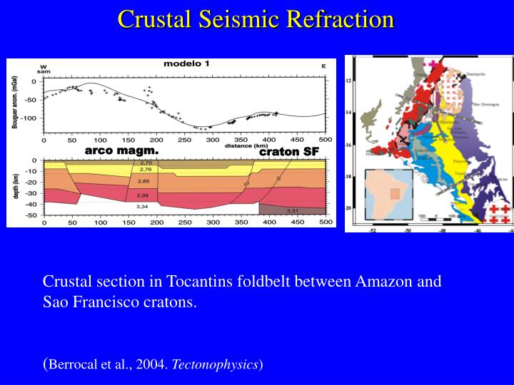 Crustal Seismic Refraction