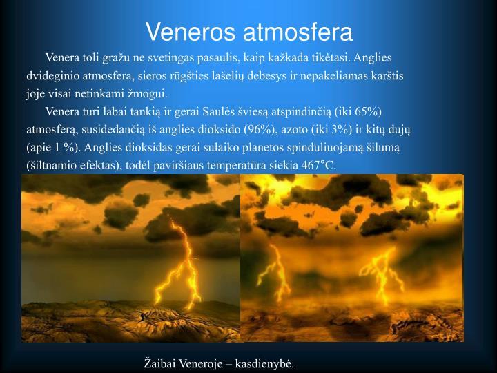 Veneros atmosfera