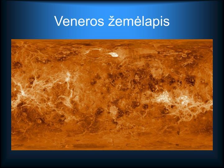 Veneros žemėlapis
